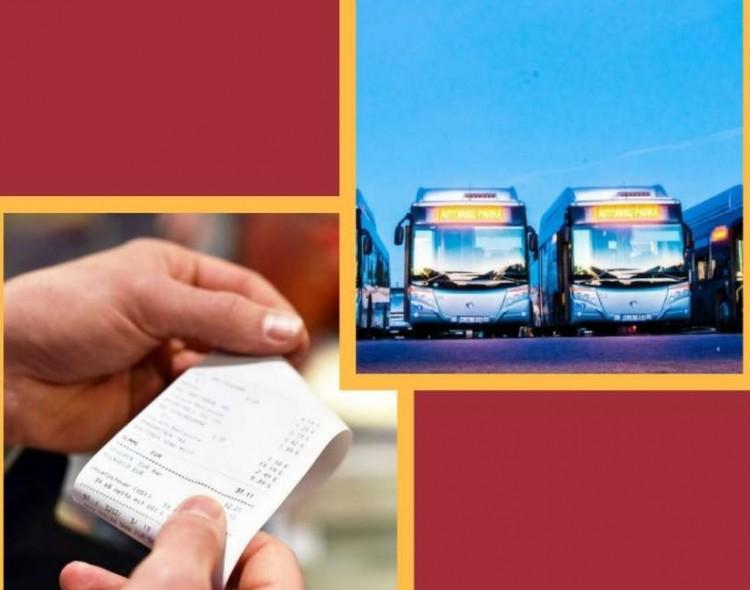Nustatytos naujos autobusų (miesto ir priemiestinio) susisiekimo maršrutų bilietų kainos