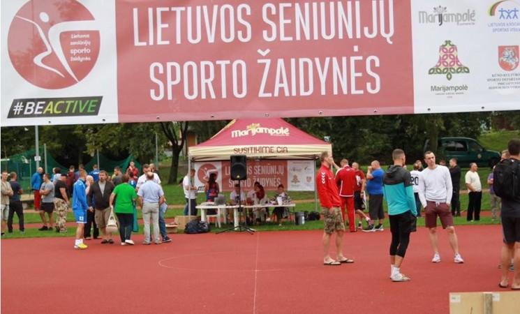 Marijampolėje jau 11 -tą kartą šurmuliavo Lietuvos seniūnijų žaidynių 2-asis etapas