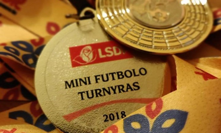 LSDP Mini futbolp turnyras 2018