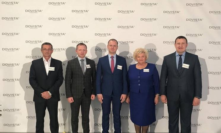 """Istorinė akimirka: Marijampolėje oficialiai veiklą pradeda gamybos milžinė UAB """"Dovista"""""""