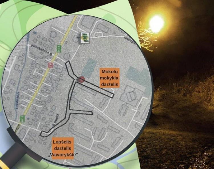 Tamsiu paros metu Mokolų mikrorajone bus saugiau!