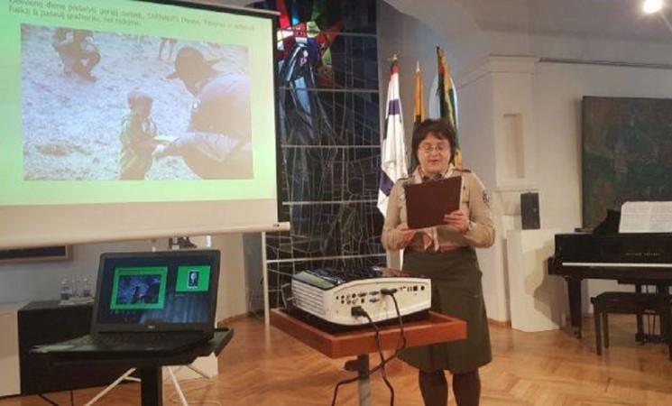 Konferencijoje - apie Marijampolės skautų istoriją ir dabartį