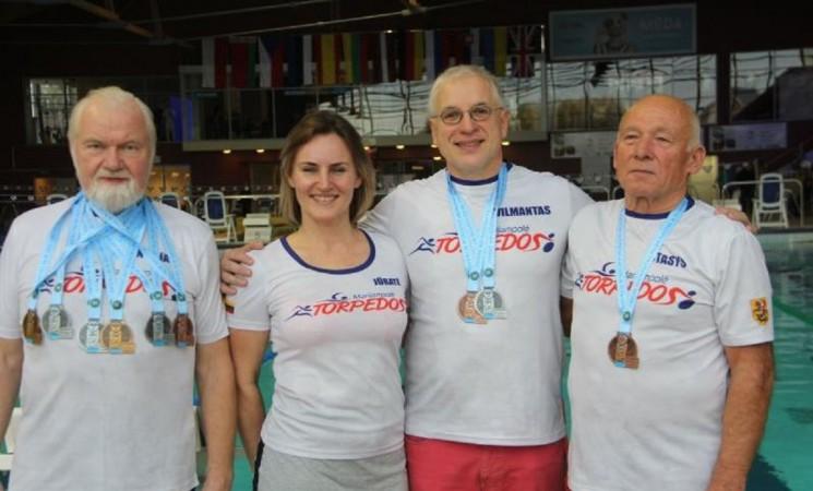 """""""Torpedos"""" Lenkijos plaukimo meistrų čempionate"""