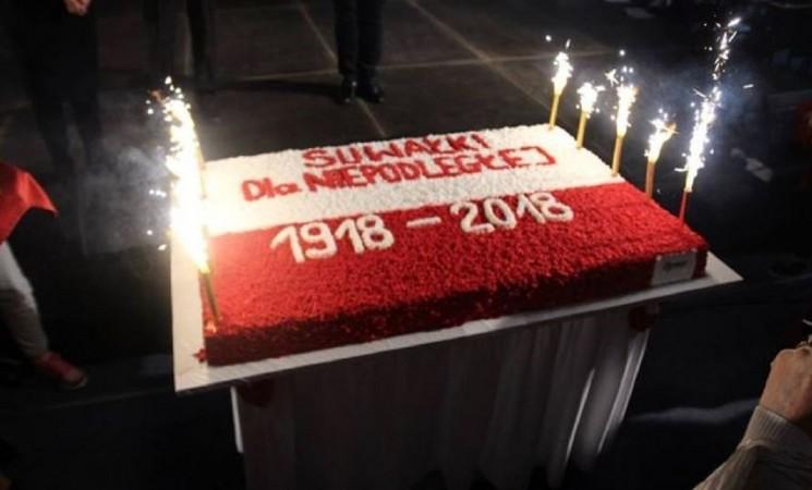 Lenkijos 100 – asis gimtadienis paminėtas Suvalkų mieste