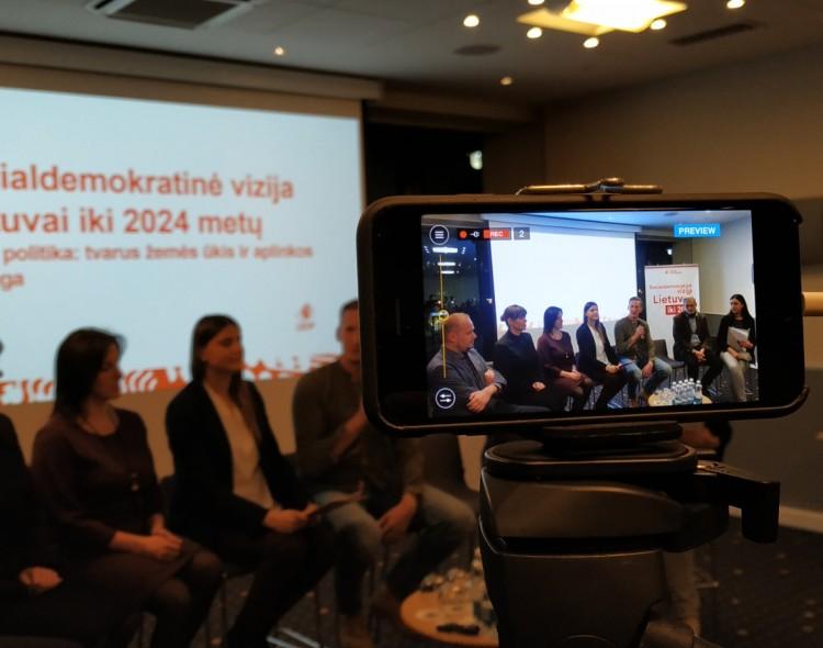 Socialdemokratinė vizija Lietuvai: tvarus ekonomikos augimas neįmanomas be aplinkosaugos
