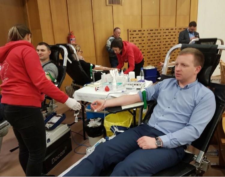 Marijampolės savivaldybėje - neatlygintinos kraujo donorystės akcija
