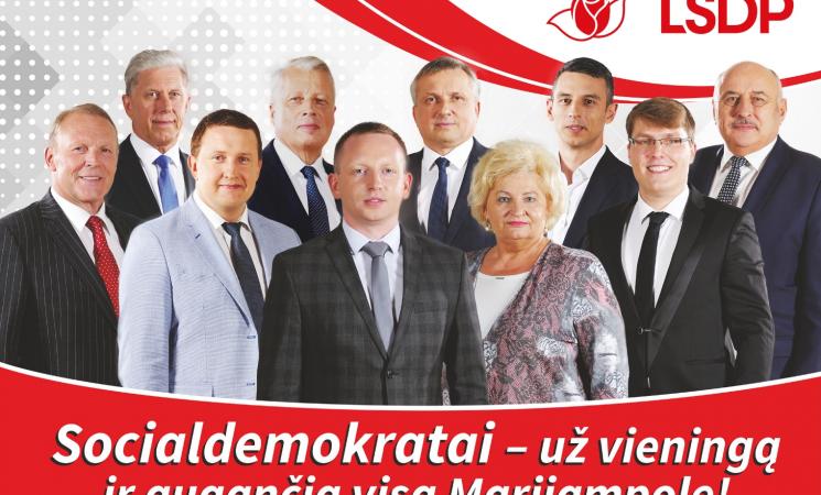 P.Isoda. Kviečiu rinktis Lietuvos socialdemokratų partiją!