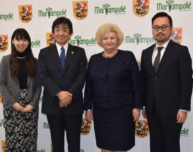 Marijampolėje lankėsi Japonijos ambasadorius