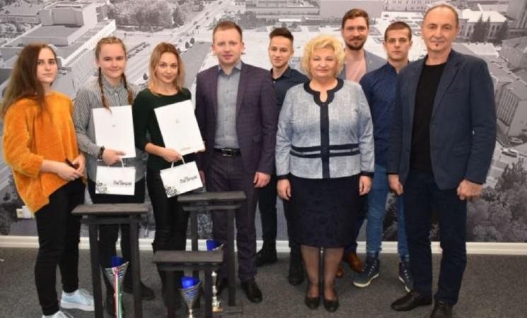 Europos čempionato sportininkus pasveikino Marijampolės savivaldybės vadovai