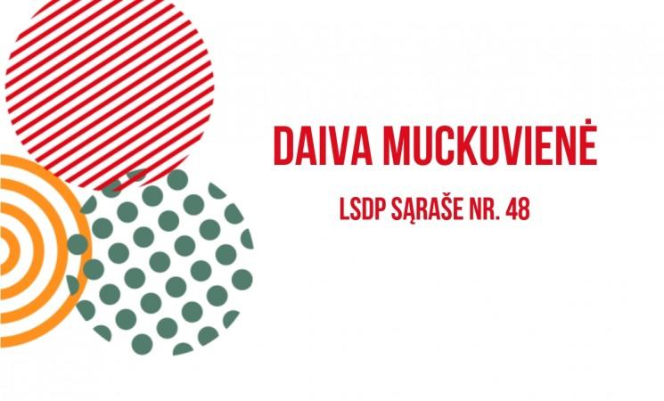 Kandidatė į Marijampolės savivaldybės tarybą