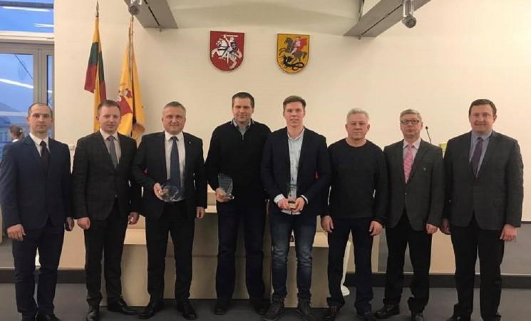 Marijampolės geriausieji 2018 metų sportininkai