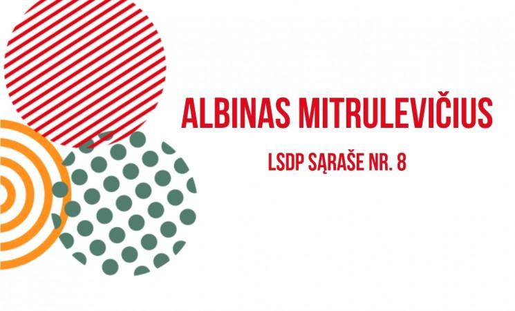 Kandidatas į Marijampolės savivaldybės tarybą