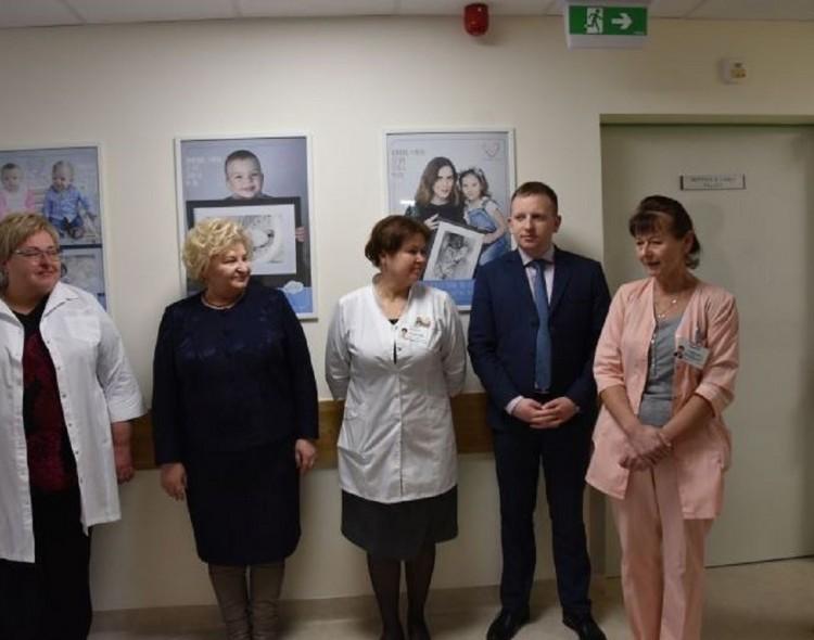 Marijampolės ligoninėje tradiciškai papildyta Mamų skrynia