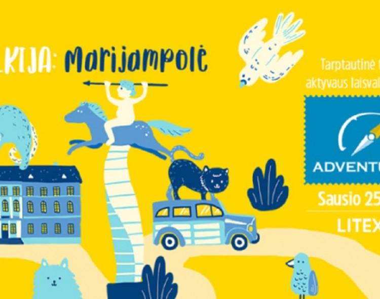 """Marijampolė pristatoma turizmo parodoje """"Adventur 2019"""""""