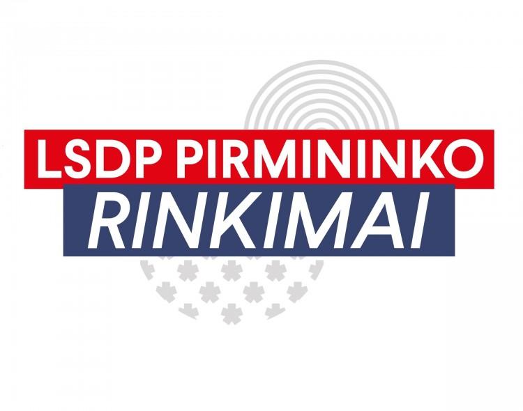LSDP pirmininku sieks tapti trys kandidatai