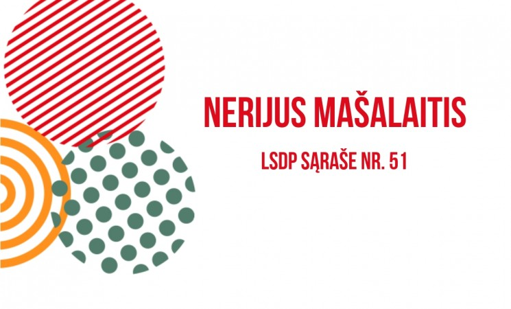 Kandidatas į Marijampolės savivaldybės tarybą!