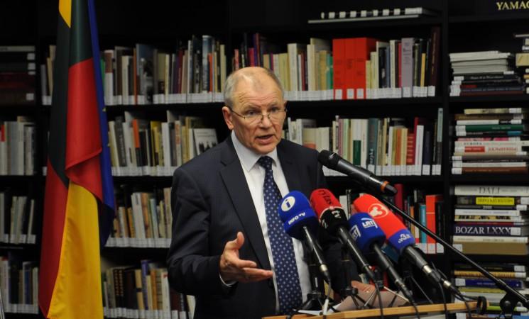 Kandidatas į prezidentus V. Andriukaitis: esu žmogus, kuris nieko nebijo