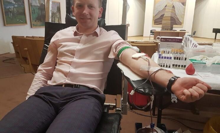 Neatlygintina kraujo donorystės akcija Marijampolėje