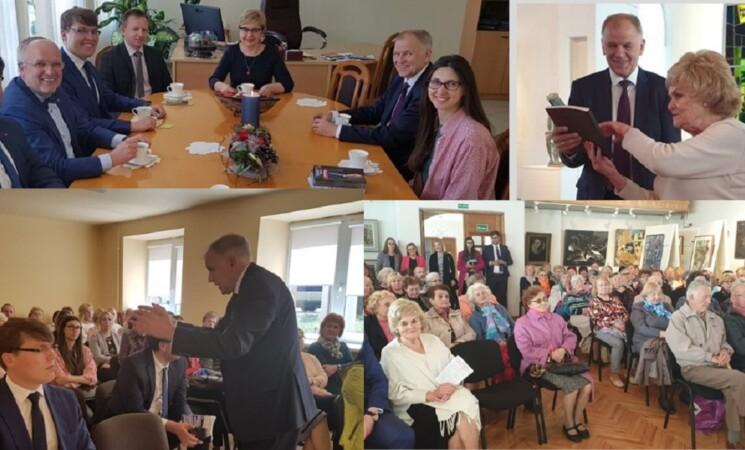 Kandidato į LR prezidentus Vytenio Andriukaičio vizitas Marijampolėje