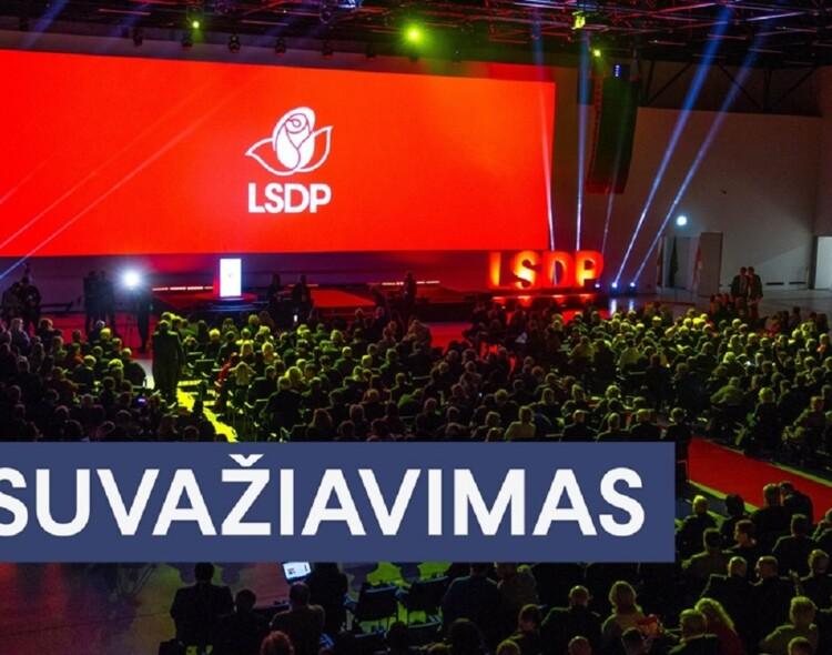 Povilas Isoda LSDP pirmininko Gintauto Palucko pavaduotojas ir gausus Marijampolės skyriaus bičiulių būrys LSDP taryboje!