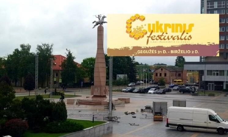 Savaitgalį Cukrinis festivalis Marijampolėje!