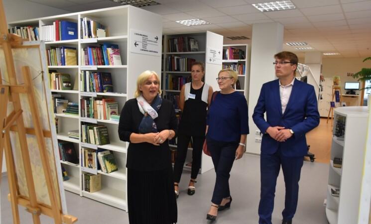 Marijampolės savivaldybės vicemeras A. Visockis lankėsi Savivaldybės kultūros įstaigose