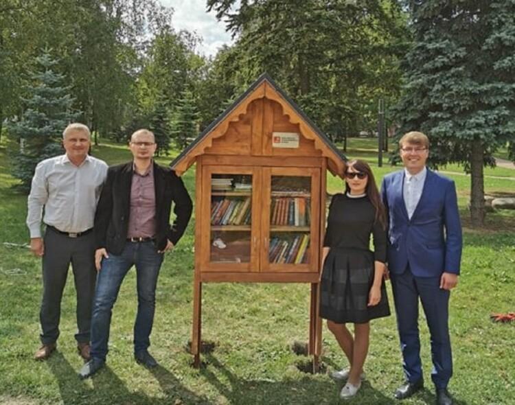 Marijampolės socialdemokratai įrengė dar vieną lauko bibliotekėlę!