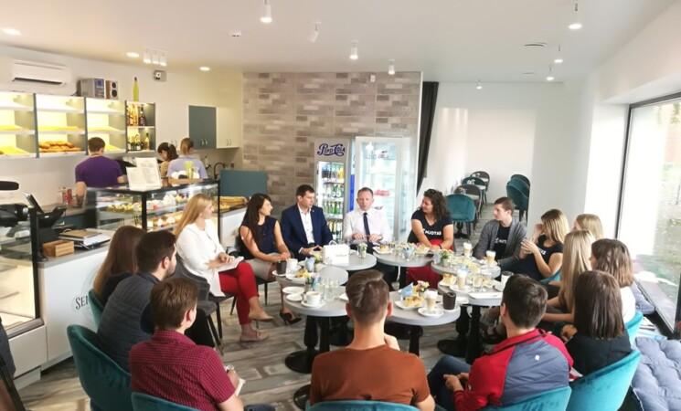 Tarptautinės jaunimo dienos proga – susitikimas su meru