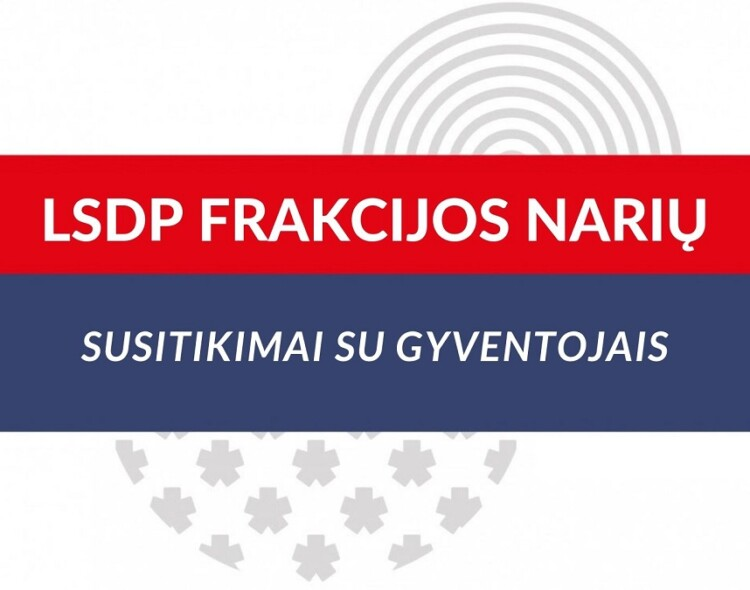 Socialinės ir sveikatos apsaugos komiteto pirmininkas kviečia į susitikimą!