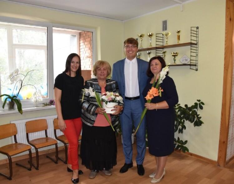 """Atnaujintose VšĮ ,,Degučių vaikų dienos centras"""" patalpose šventiškos nuotaikos"""