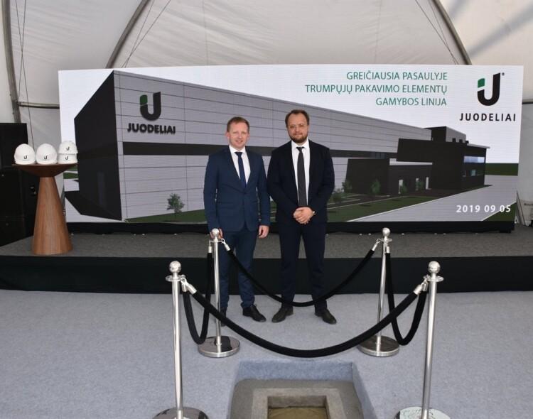 """Investicijos Marijampolėje: UAB """"Juodeliai"""" stato pasaulinio lygio pakavimo elementų gamyklą"""