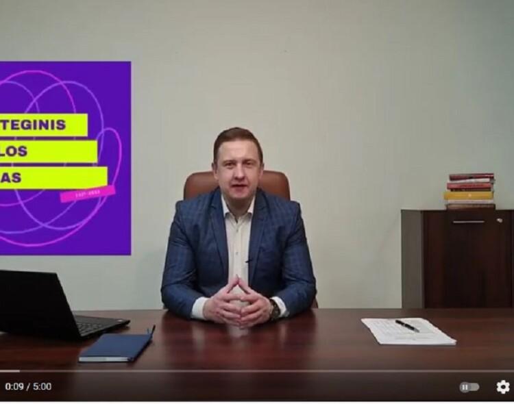Karolis Podolskis. Naujas gatvių apšvietimas, konteineriai, verslo skatinimas ir darnaus judumo priemonės Marijampolėje.