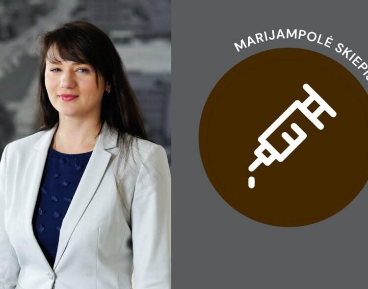 Agnė Pavelčikienė. Vakcinavimo proceso aktualijos Marijampolėje.